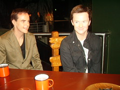 Ant and Dec (richiiebam) Tags: madame get celebrity me statue out tv im ant here dec lancashire declan merlin celeb blackpool tussauds waxwork itv presenters mcpartlin donelley