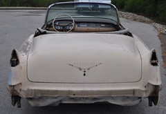 """1956 Series 62 Red Convertible Cadillac restoration • <a style=""""font-size:0.8em;"""" href=""""http://www.flickr.com/photos/85572005@N00/6302980107/"""" target=""""_blank"""">View on Flickr</a>"""