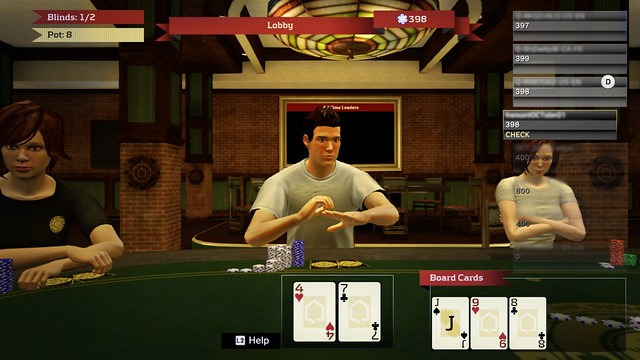 PlayStation Home: Home Hold 'Em