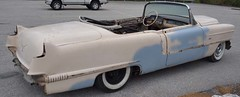"""1956 Series 62 Red Convertible Cadillac restoration • <a style=""""font-size:0.8em;"""" href=""""http://www.flickr.com/photos/85572005@N00/6303504886/"""" target=""""_blank"""">View on Flickr</a>"""