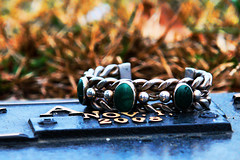 3 years today (Clever Poet) Tags: birthday 3 grave stone death one friend sweet sister anniversary turquoise rip year kathy bracelet beloved