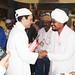 Rahul Gandhi in Ravidas Mandir