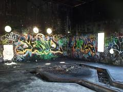 odd room in the Nike HM95 facility (mainmanwalkin) Tags: abandoned graffiti florida miami nike everglades missile paintball ifc dadecounty miamidadecounty integratedfirecontrol abandonedflorida campkrome kromeinsaneasylum nikehm95