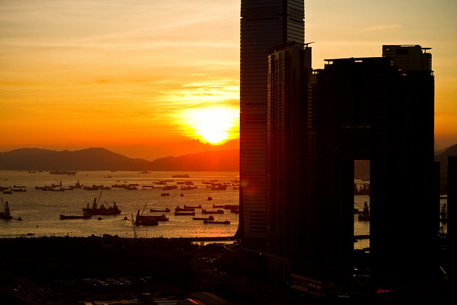 Hong Kong, Sunset