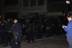 Oakland Police Ready for Violence (Soozarty1) Tags: oakland oaklandpolice policeviolence ows osf occupy occupyoakland