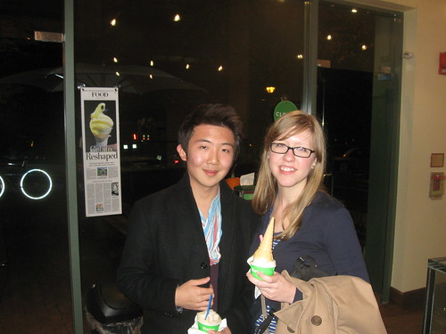 Dan and DC and gelato!
