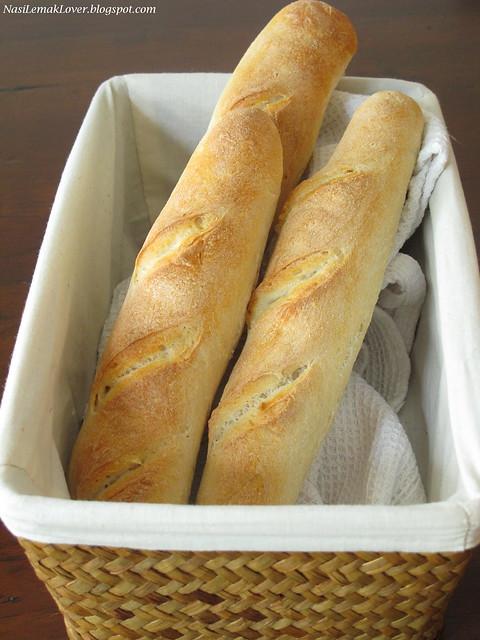 Nasi Lemak Lover: Easy French Bread / Baguette