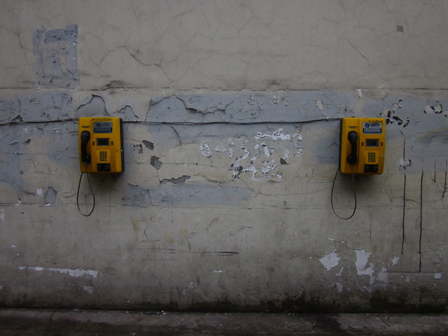 Two phones, Chengdu