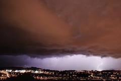 Rayo e impacto sobre Leioa (Emitida en EiTB, en el Eguraldia el 5 de Nov. 2011) (carlosolmedillas) Tags: light sky cloud storm noche ray cielo tormenta nocturna rayo nube meteo etb tiempo impacto eitb meteorologia lightstorm resplandor fenomeno eguraldia