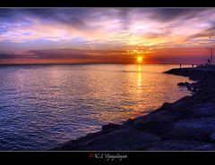 Sunset (vijayalayan) Tags: sunset williamstown challengeyouwinner