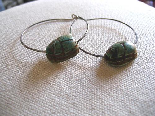 scarab closeup