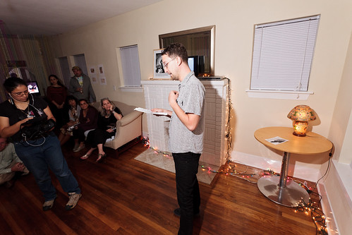 John Pluecker performing story