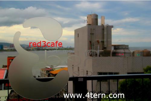 三层楼的淡水红楼咖啡馆