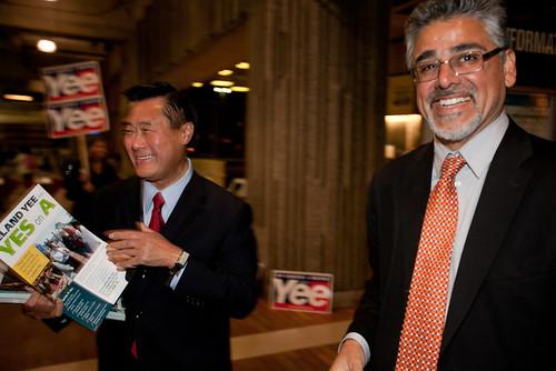 Leland Yee and John Avalos