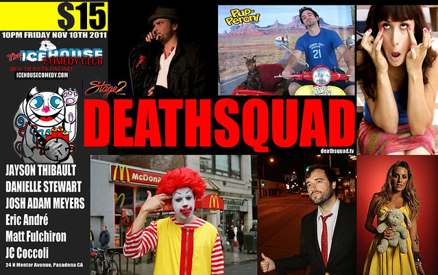 DEATHSQUAD COMEDY LIVE! 11/11/2011
