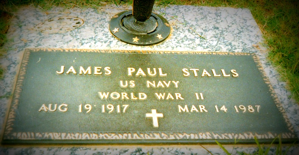 James Paul Stalls, Jr Headstone