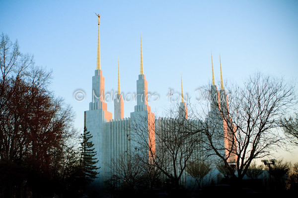 Washington D.C. Vintage LDS Temple Prints -2-4