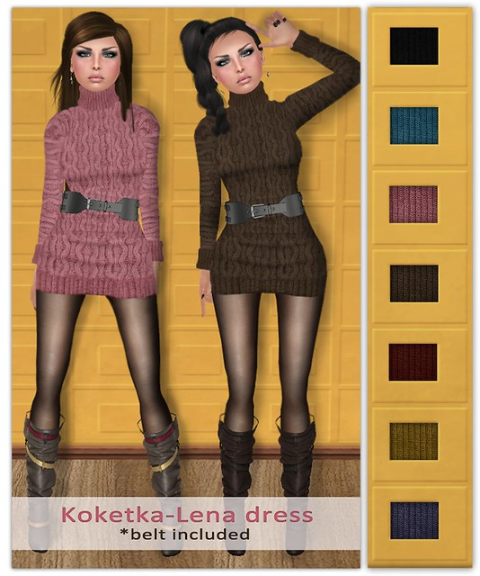 Koketka - Lena dress NEW