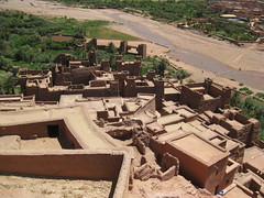 Morocco At Benhaddou (ax3l82) Tags: pictures city green film nature canon landscape photography landscapes photo unesco morocco maroc marocco marrakech gladiator fortified benhaddou kasbahs 550d at t2i