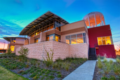 West Irving Library (todd landry photography) Tags: west architecture nikon texas library irving hdr d90