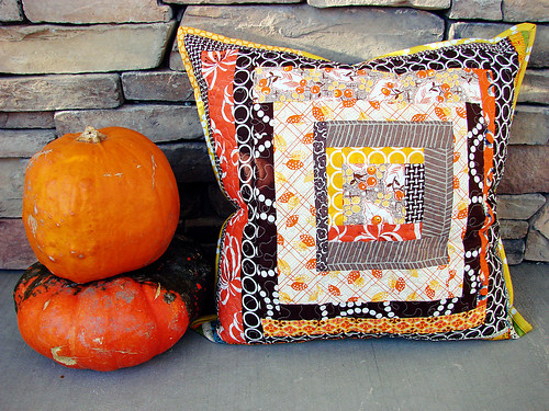 a fall pillow