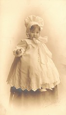 Norma Violet Kean (Addie-B) Tags: seattle portrait baby girl vintage photo child violet photograph norma 1909 kean jamesbushnell