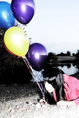 (Neilz89) Tags: balloons dandelion wishing redjacket