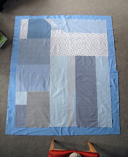 Stash Quilt - Finished top