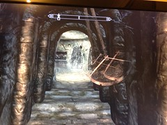 Swinging Blades (GeneralBupkiss) Tags: dungeon trap blades skyrim elderscrollsv