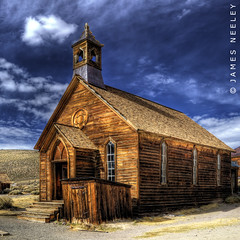 Bodie Chapel - HDR (James Neeley) Tags: california decay handheld ghosttown bodie hdr 5xp jamesneeley flickr23