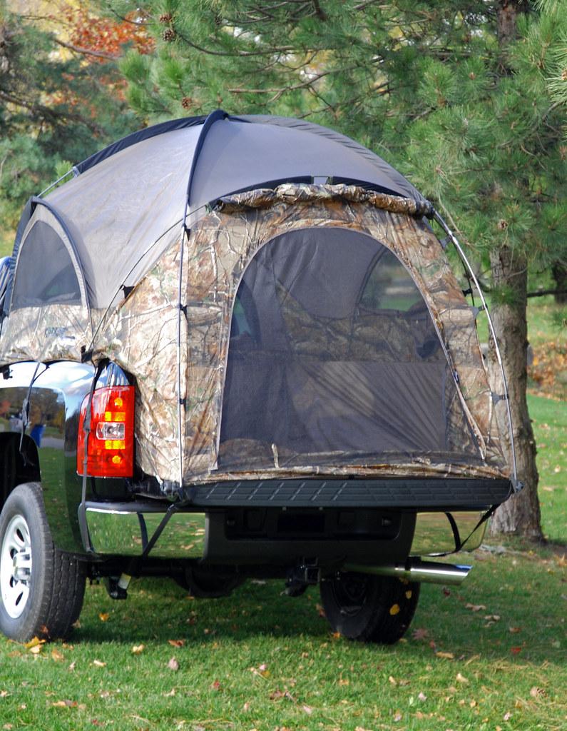 Camo Truck Tent1