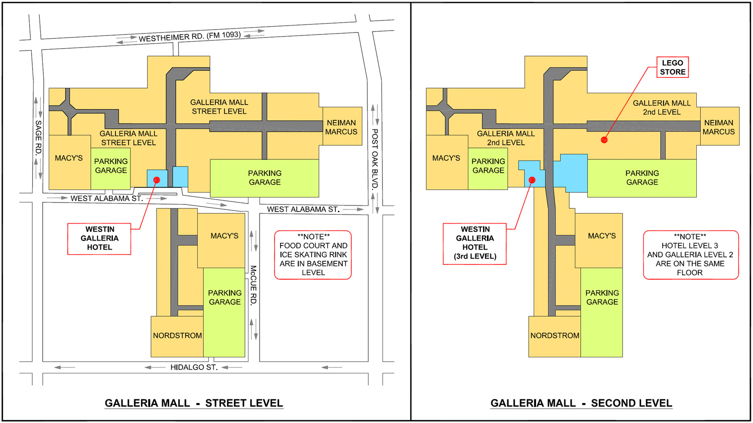Houston Galleria Map Related Keywords Amp Suggestions