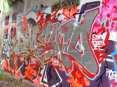 AMEND (Lurk Daily) Tags: graffiti bay east tdk amend