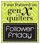 GXQ I'm Featured Follower Friday button by Elena @ Breakfast for Dinner