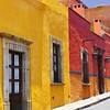 sunny colors of san miguel (msdonnalee) Tags: photosfromsanmigueldeallende forosdesanmigueldeallende adobe hillsidehouses house casa buildings architecture arquitectura colonialarchitecture window janela fenster finestre finestra ventana building facade fachada doubleniceshot facciate هندسة معمارية larqitecture architektur arqitetura donnacleveland