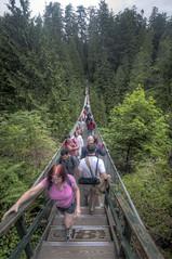 Bridge Over Troubled Water (Fil.ippo) Tags: capilano suspension bridge vancouver british columbia canada ponte sospeso sigma1020 filippo d5000 sigma 1020 filippobianchi