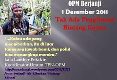 Lambertus Pekikir Larang Bintang Kejora (viktor krenak) Tags: 1 bintang opm 2011 bendera lamber kejora bintangkejora 1desember2011 lamberpekikir pekikir