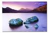 Majestic Dawn - Wispy Peaks ([ Kane ]) Tags: pink mountain lake snow cold water sunrise canon landscape dawn rocks purple dove tasmania 5d kane dovelake cradlemountain gledhill canon1740 kanegledhillphotography