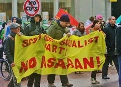 STUC Anti Racist March (1789Photography) Tags: nov november demo march scotland day 26 glasgow political parties demonstration rainy unions trade antifascist 26th antiracist 2011 stuc nopasaran standrewsday sheboom 261111