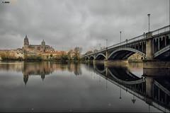 Desde el Tormes, Salamanca (Josepargil) Tags: ro puente agua catedral reflejo salamanca casas farolas arcos castillaylen josepargil mygearandmepremium mygearandmebronze