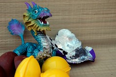 Dragon Eggs!  3/4 (John 3000) Tags: monster mystery toy funny dragon treasure candy chocolate egg capsule kinder surprise beast choco huevo juguete sorpresa hatching hatchling
