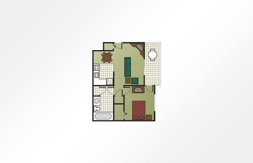 Mountain Run at Boyne™ 1-Bedroom - 689 sq ft