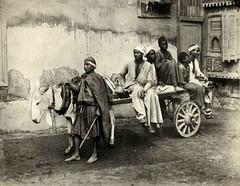 cairo,personenvervoer  before 1914 (janwillemsen) Tags: egypt cairo 1900 oldphoto