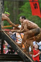 12-03-25_Spartan-Race_19 (Danniewalls) Tags: wood usa men net water fire climb jump women mud charlotte spears northcarolina climbing hay crawl spear spartanrace