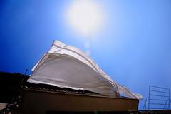 clean (Gjorgji Orovcanec) Tags: blue sky lake canon eos clean ohrid 5d sheet gjorgji ororvcanec