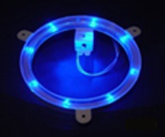 Blue Cornhole Light