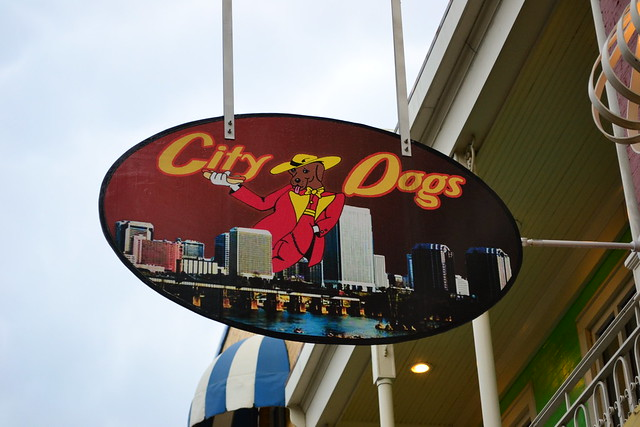 City Dogs Sign