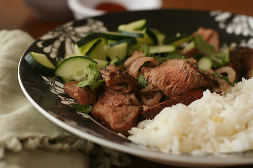 thai steak salad 4