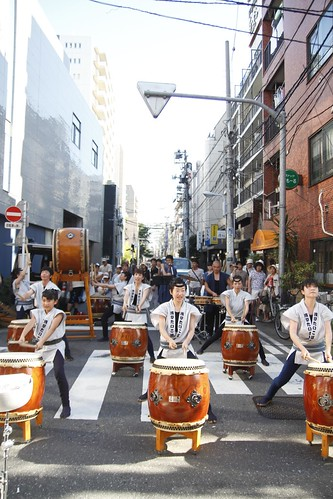 Taiko performance at Kappabashi 2