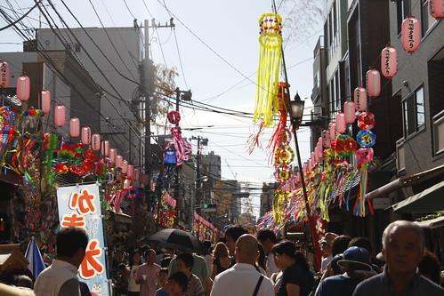 Tanabata matsuri at Kappabashi
